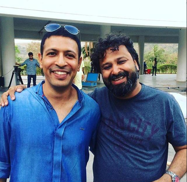 Aseem Arrora with Producer Nikkhil Advani