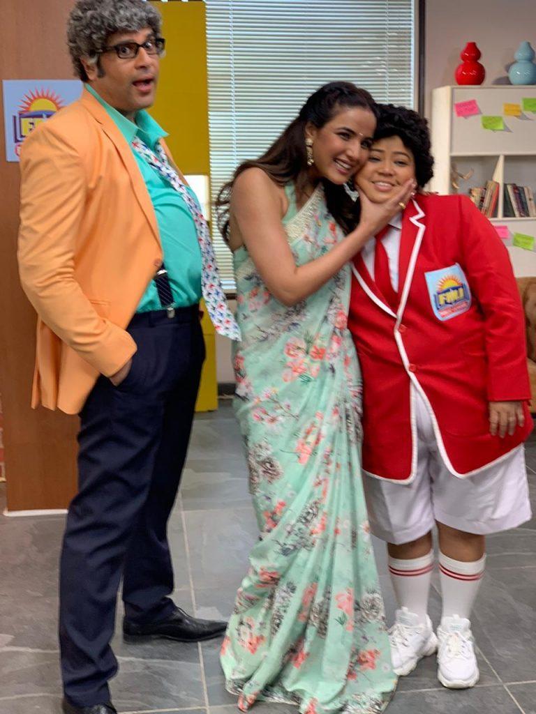 Krushna, Bharti and Jasmin